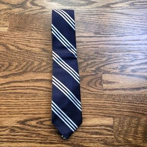 Classic Blue & White Men's Neck Tie | J Crew